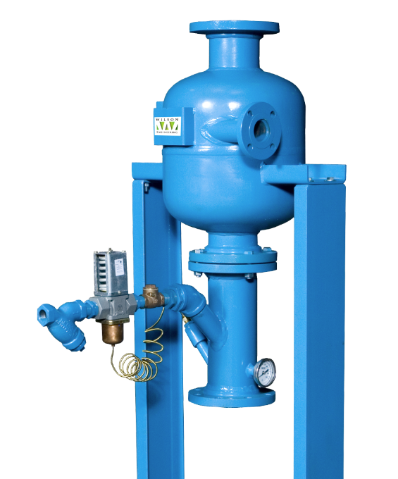 Blowdown Separators Industrial Steam