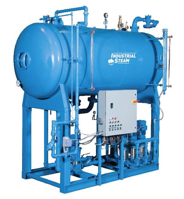 Steam Flow 005 Pressurized Deaerator Industrial Steam