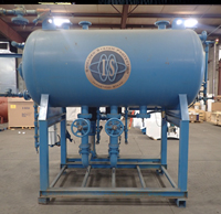 Industrial Steam pressurized deaerator