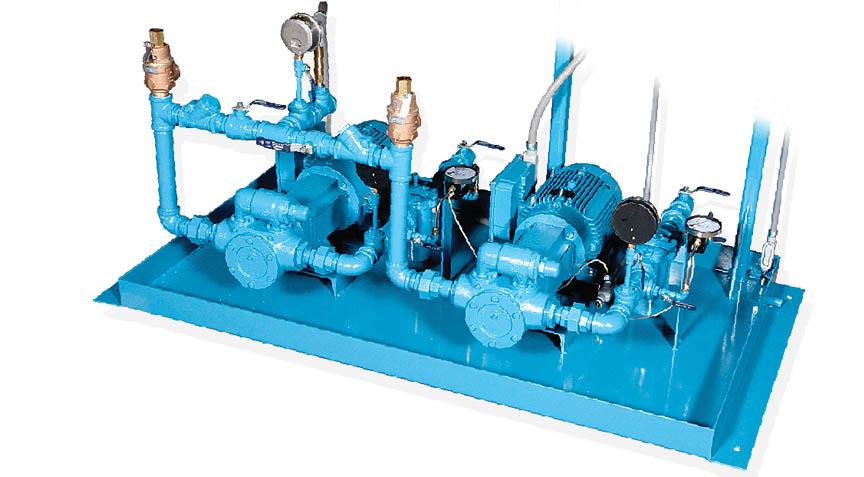 Fuel Oil Pump Sets - Industrial steam