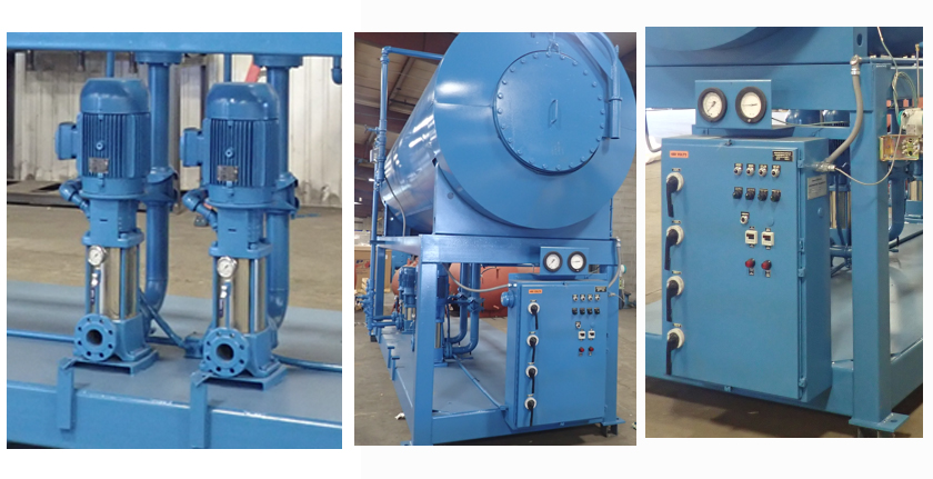 Industrial Steam Duotank Pressurized Deaerator And Surge