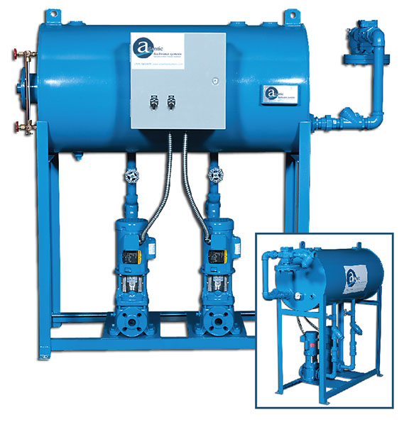 Boiler Feedwater Systems - Industrial steam